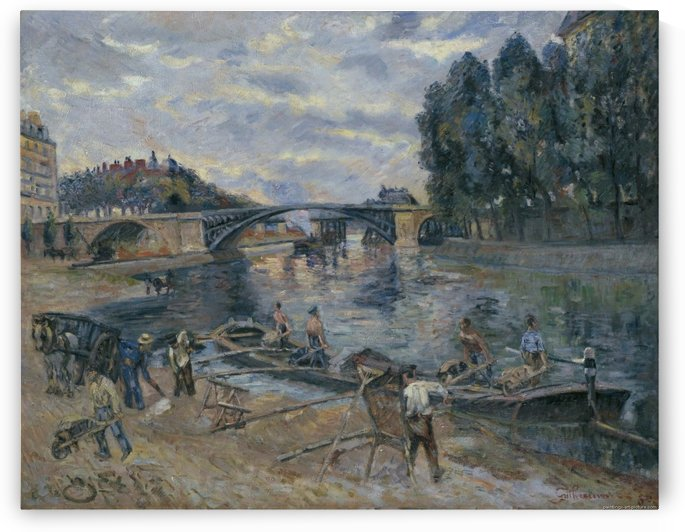 The Bridge of Sully, Paris by Armand Guillaumin
