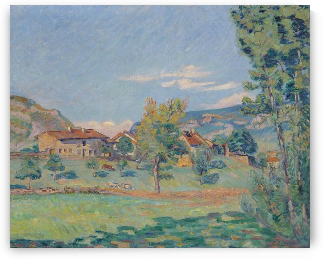 Thouaret, the Banks of the Ain by Armand Guillaumin