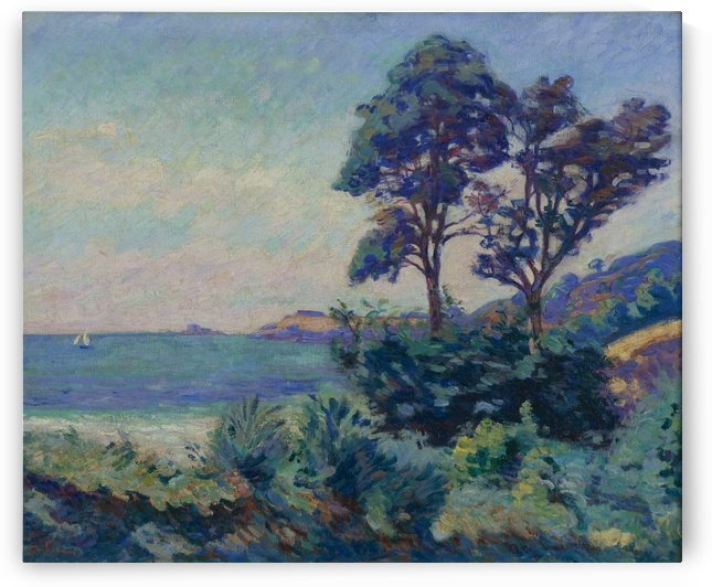 Seascape at Saint-Palais by Armand Guillaumin
