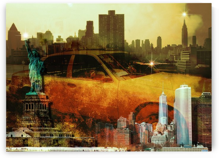 NYC Composition by Bruce Rolff