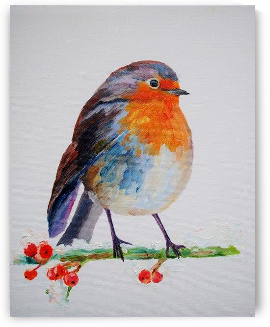 Robin by Leah Maximova