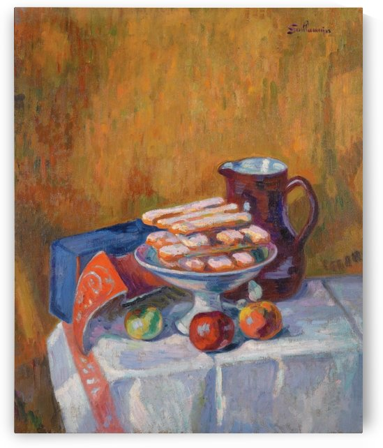 Still Life with Cakes by Armand Guillaumin