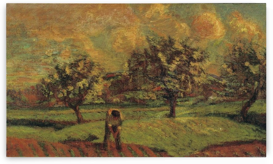 Landscape of Ile de France by Armand Guillaumin