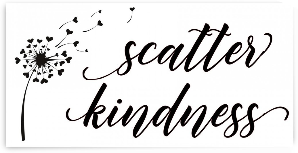 scatter kindness  13.5 by TBOHN PAINTS