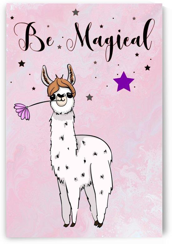 Llama Be Magical by TBOHN PAINTS