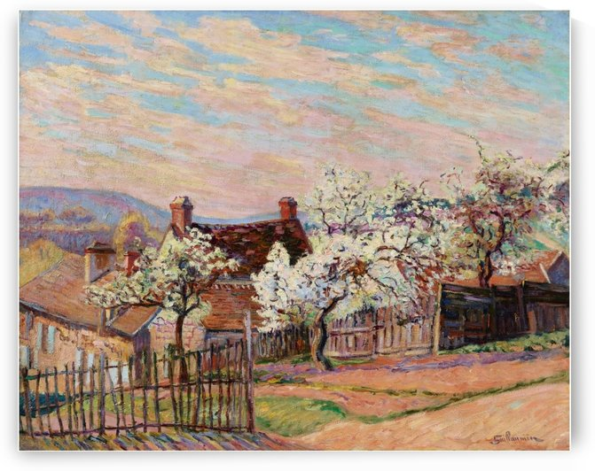 Landscape of Saint-Cheron by Armand Guillaumin