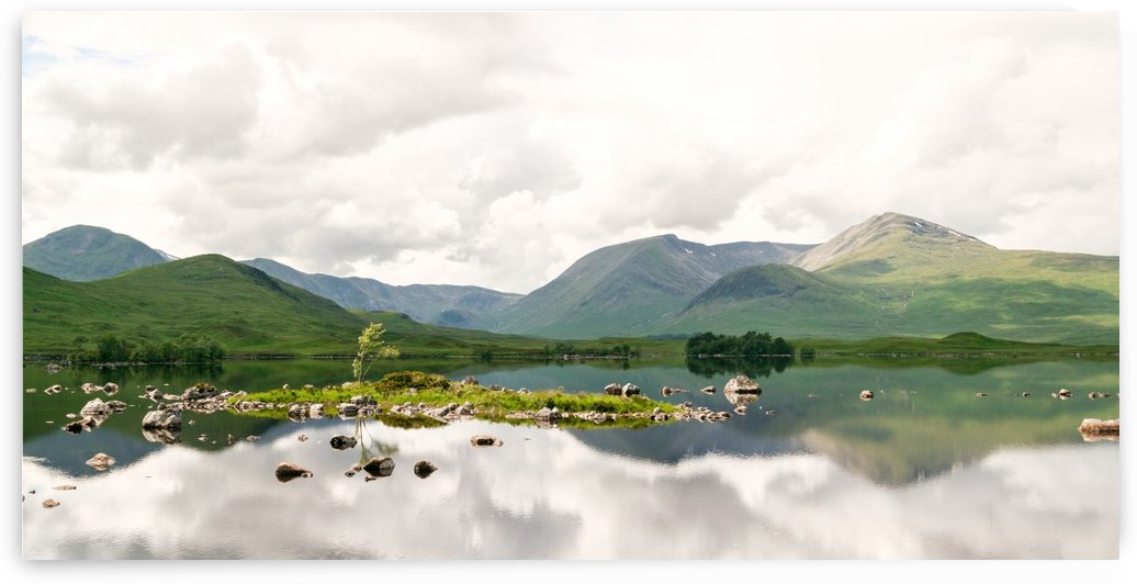 Lac Mirroir de Glencoe by Jacob Roy