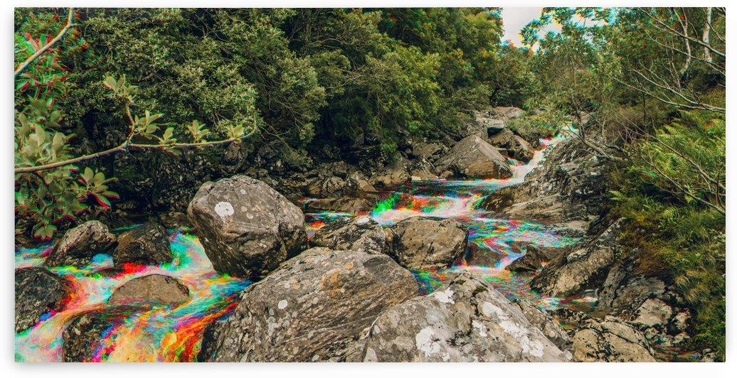 Glen Shiel River - Colorflow 3 by Jacob Roy