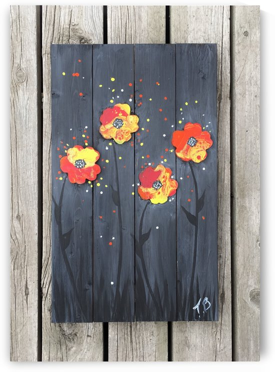 Pop up Daisies by TBOHN PAINTS