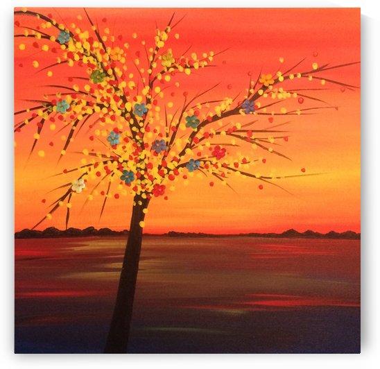 Summer Sunset by TBOHN PAINTS