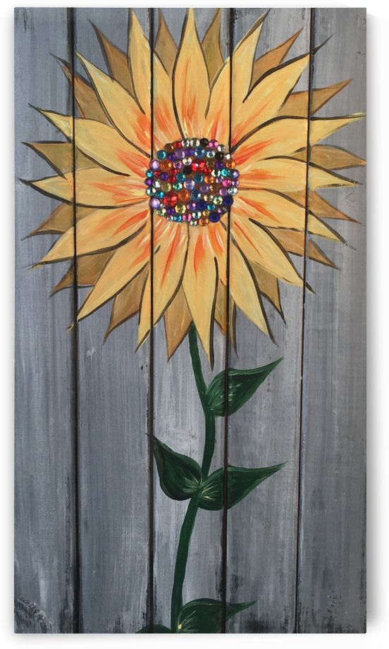 Jeweled Daisy by TBOHN PAINTS