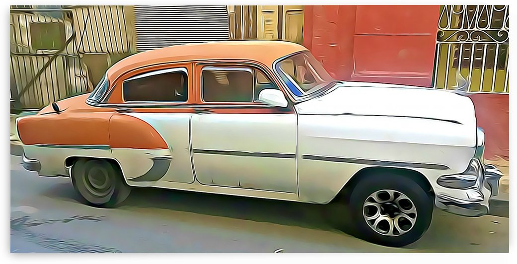classic american car by MIRIAM