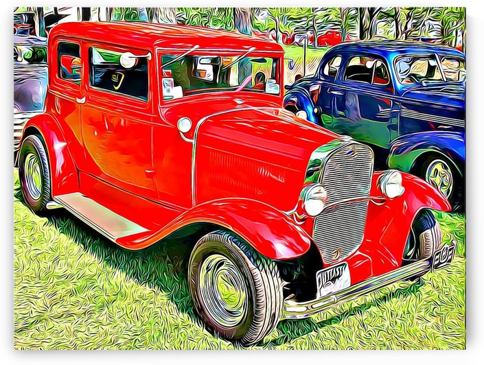 antique cars  by MIRIAM