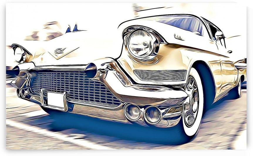auto car cadillac  by MIRIAM