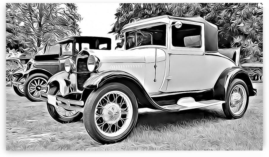 vintage cars by MIRIAM