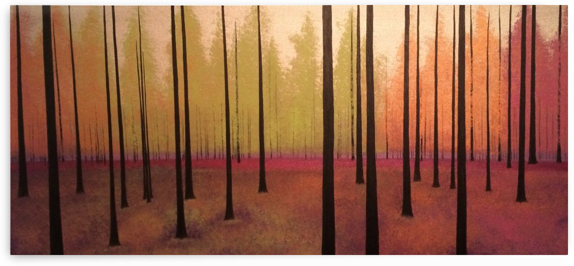 Sherbert Forest by TBOHN PAINTS