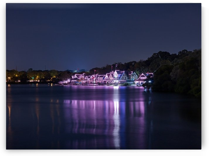 Boathouse Row by Victor F Rodriguez Jr