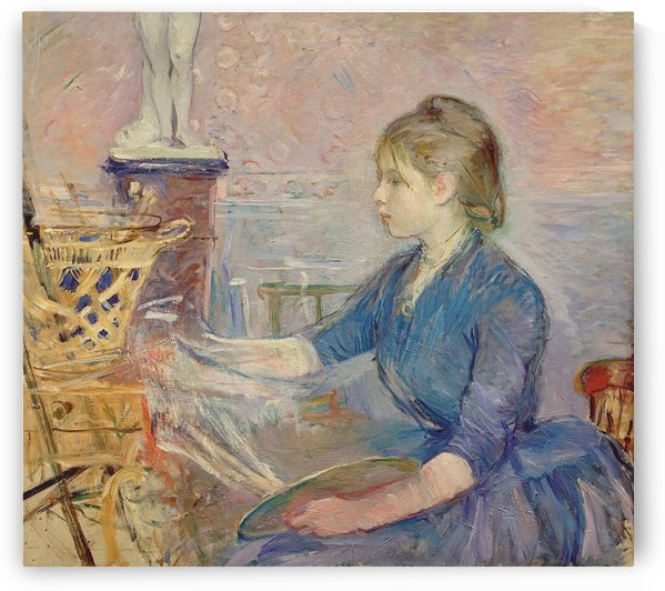 Paule Gobillard Drawing by Berthe Morisot