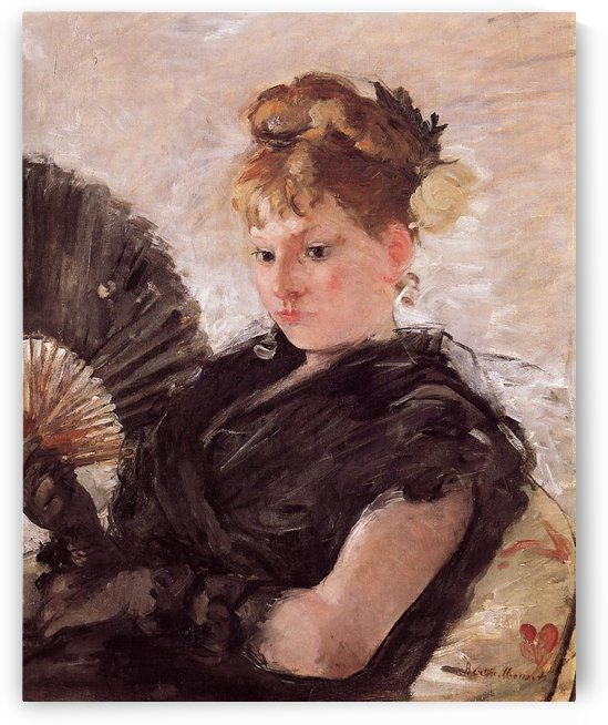 Head of English Woman by Berthe Morisot