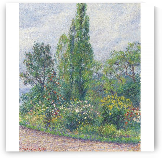 The Garden of Octave Mirbeau at Damps (Eure) by Camille Pissarro