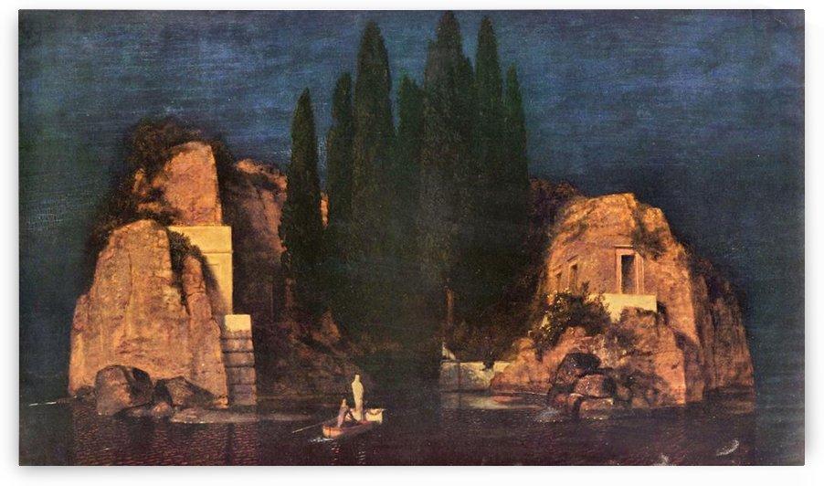 Dead island by Franz von Stuck by Franz von Stuck