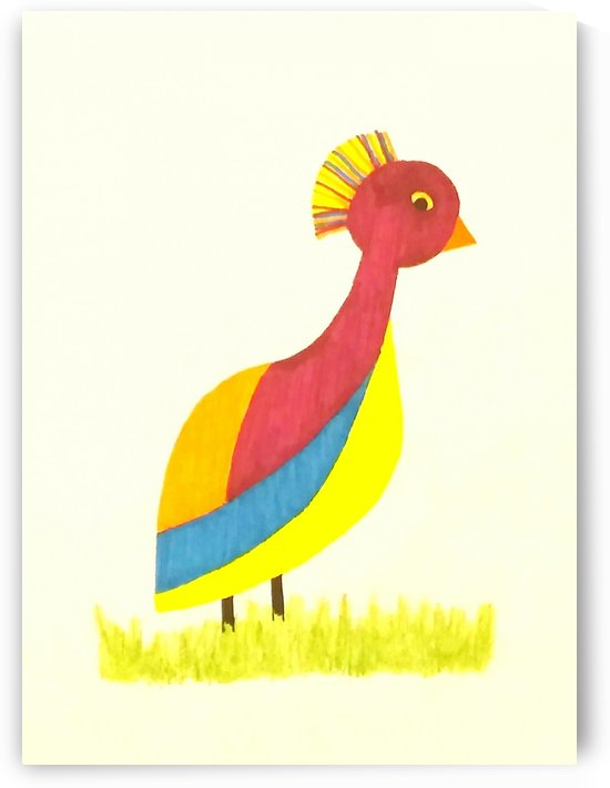 Bird From Hawes Meadow by SarahJo Hawes