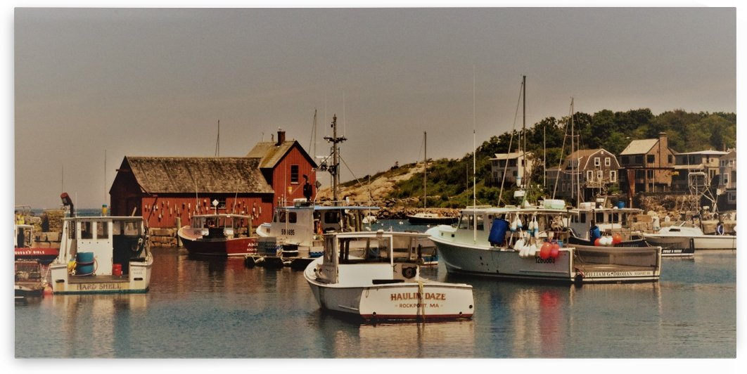 Rockport Harbor by Jasper Bickley