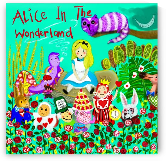 Alice In The Wonderland by Su Yi