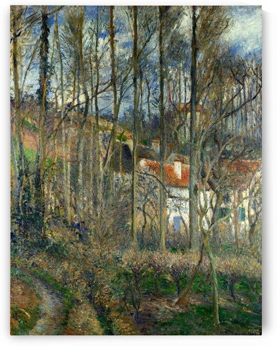 The Côte des Bœufs at L'Hermitage by Camille Pissarro