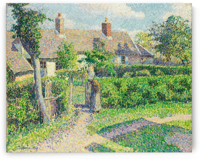 Peasant House by Camille Pissarro