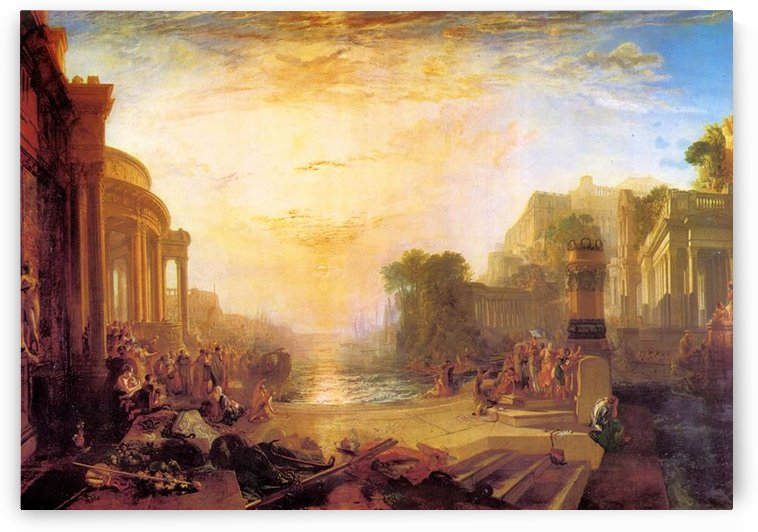 Decline of Carthagen by Joseph Mallord Turner by Joseph Mallord Turner
