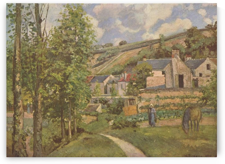 Pontoise by Camille Pissarro
