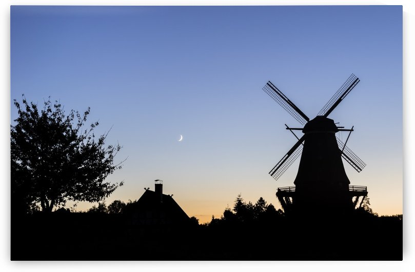 Mill Silhouette by Patrice von Collani