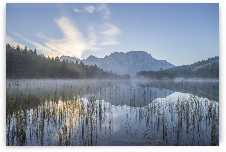Alpine Lake by Patrice von Collani