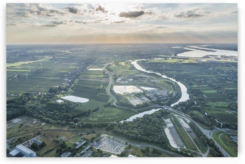 Aerial Photo Hamburg by Patrice von Collani