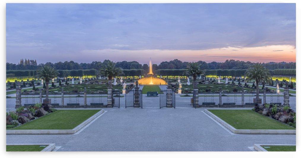 Royal Gardens of Herrenhausen Panorama by Patrice von Collani