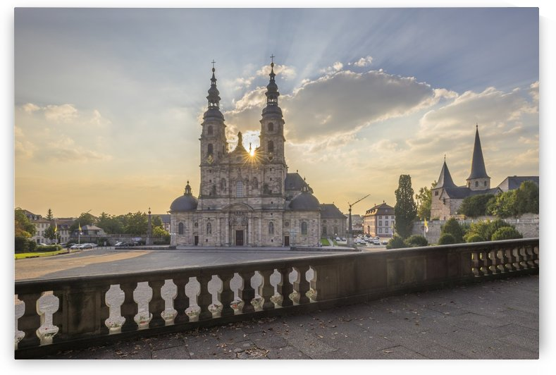 Fulda Cathedral St.Salvator by Patrice von Collani