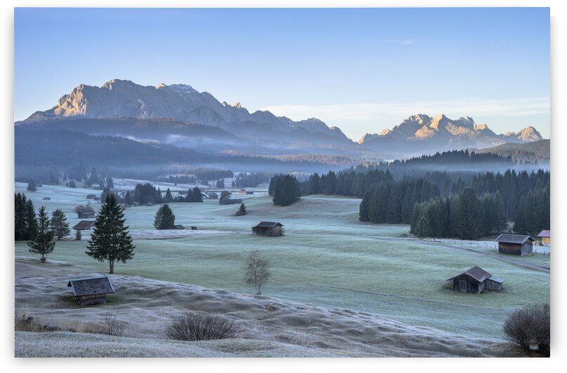 Alps in the morning by Patrice von Collani