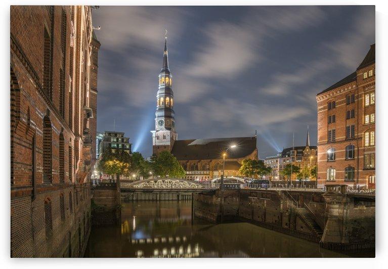 Hamburg Speicherstadt & St. Katharinen  by Patrice von Collani