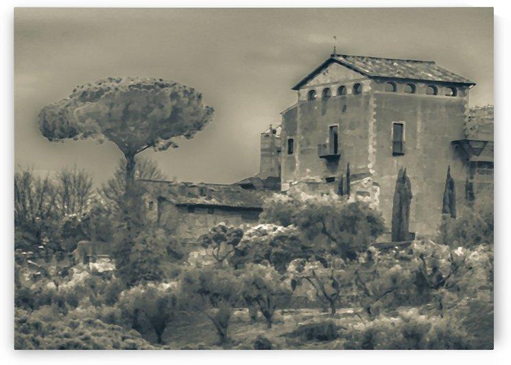Rural Rome Scene Photo Illustration by Daniel Ferreia Leites Ciccarino