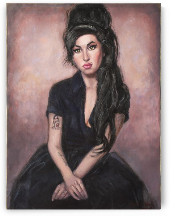 Amy in black  by Jocelyne maucotel