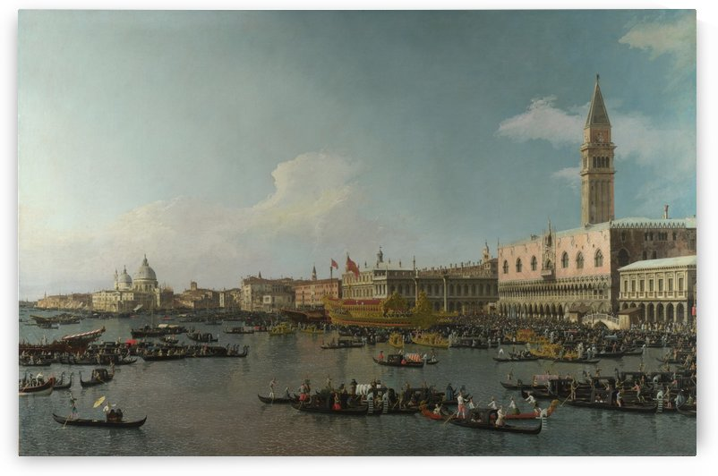 The Basin of San Marco on Ascension Day by Canaletto