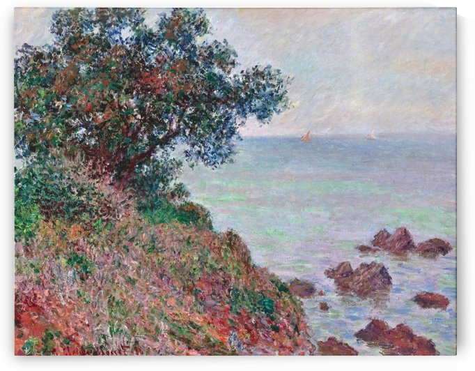 Mediterannian Coast, Grey Weather by Claude Monet
