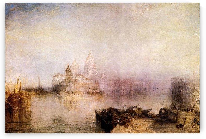 Dogana and Santa Maria in Venice by Joseph Mallord Turner by Joseph Mallord Turner
