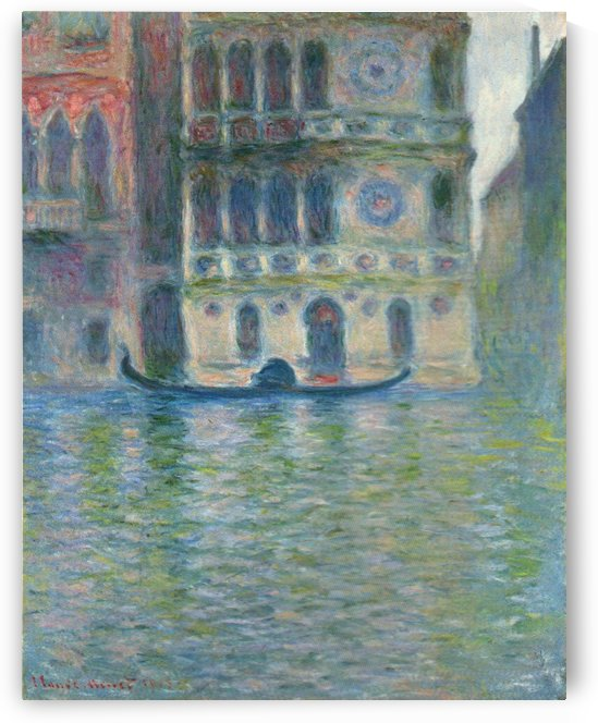 Dario Palace, Venice by Claude Monet