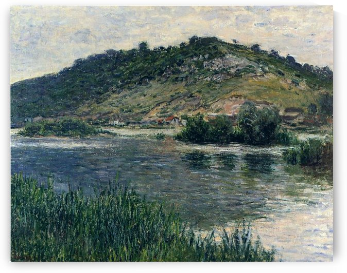Landscape at Port-Villez by Claude Monet