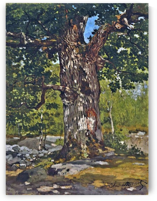 The Bodmer Oak by Claude Monet