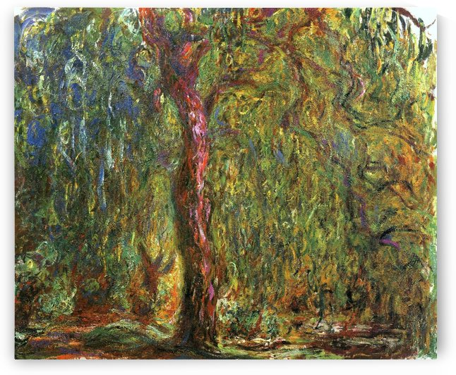 The Willow by Claude Monet