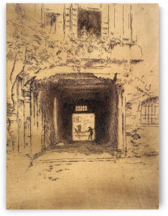 Doorway and Vine by Whistler by Whistler