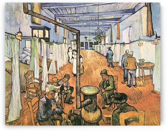Dormitory in the Hospital in Arles by Van Gogh by Van Gogh